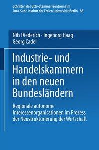 Industrie- und Handelskammern in den neuen Bundesländern