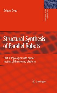 Structural Synthesis of Parallel Robots Part 3