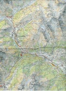 Swisstopo 1 : 50 000 Courmayeur