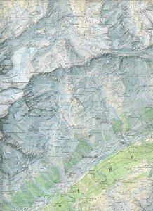 Swisstopo 1 : 25 000 Val Bedretto