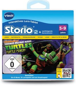 VTech 80-231304 - Storio 2 Lernspiel - Teenage Mutant Ninja
