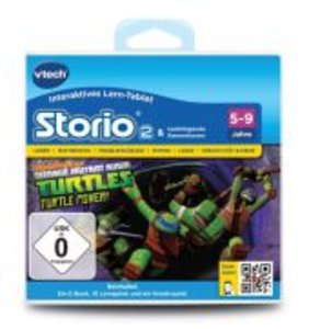 VTech 80-231304 - Storio 2 Lernspiel - Teenage Mutant Ninja