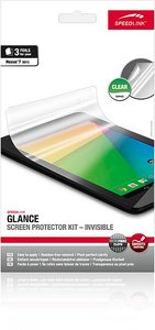 GLANCE Invisible Displayschutz Kit für Nexus 7 (2013) klar