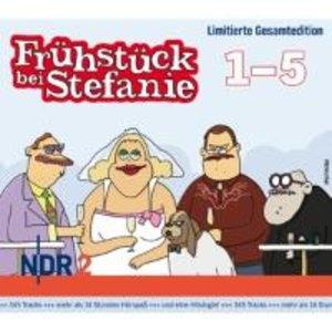 NDR 2-Frühstück bei Stefanie-Box Folgen 1-5