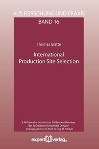 International Production Site Selection