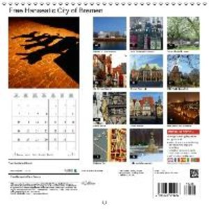Free Hanseatic City of Bremen (Wall Calendar 2015 300 × 300 mm S