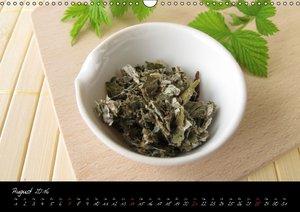 Heilsame Teekräuter (Wandkalender 2016 DIN A3 quer)