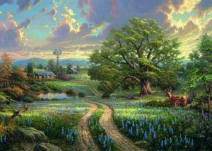 Thomas Kinkade, Country Living, 1.000 Teile Puzzle