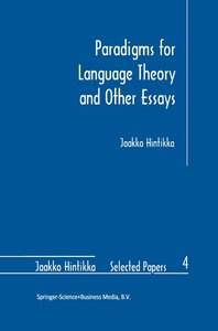 Paradigms for Language Theory and Other Essays