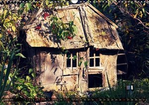 Old cabins in Germany - Vintage style (Wall Calendar 2015 DIN A3