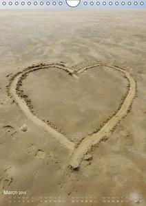 Between dunes and sea (Wall Calendar 2015 DIN A4 Portrait)