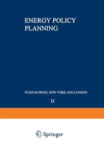 Energy Policy Planning