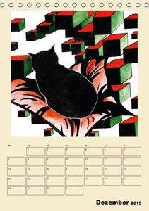 Surreale Katzenträume (Tischkalender 2015 DIN A5 hoch)