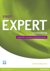 Expert First Coursebook with CD Pack
