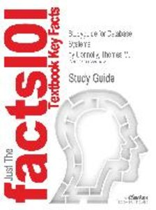Studyguide for Database Systems by Connolly, Thomas M., ISBN 978