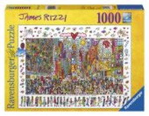 James Rizzi: Times Square. Puzzle 1000 Teile