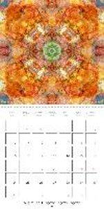 Flower Mandalas (Wall Calendar 2015 300 × 300 mm Square)