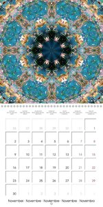 Flower Mandalas (Wall Calendar 2015 300 × 300 mm Square)