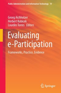 Evaluating e-Participation