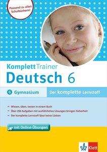 KomplettTrainer Deutsch 6. Schuljahr