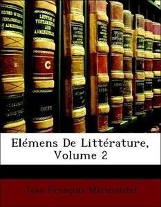 Elémens De Littérature, Volume 2
