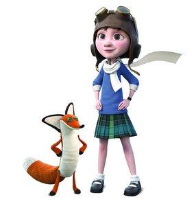 Hape 824761 - Der kleine Prinz: Mädchen mit Fuchs, Figuren-Set