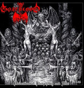Adoration of Blasphemy and War LP