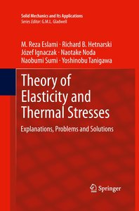 Theory of Elasticity and Thermal Stresses