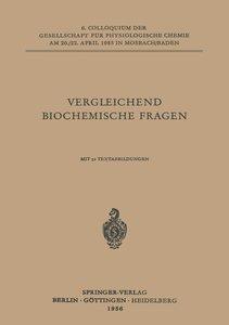 Vergleichende Biochemische Fragen