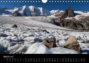 Majestic Mountains of Switzerland \'UK-Version\' (Wall Calendar