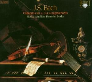 Concertos 2,3 & 4 Harpsichords