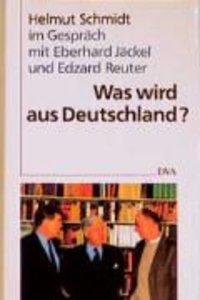 Was wird aus Deutschland?