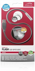 Speedlink SL-7402-BK FLASH LED Spotlight, Notebook-Lampe, schwar