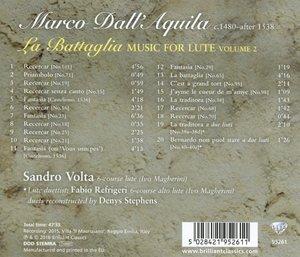 La Battaglia Lute Music Vol.2