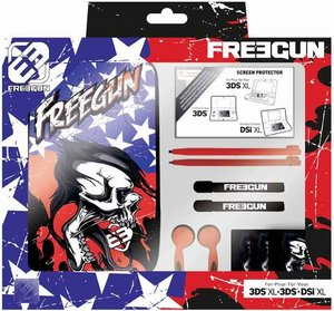 Pack Essential XL FREEGUN - Zubehör Pack für Nintendo 3DSÖXL/3DS