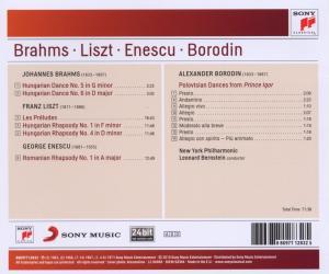 Ungarische Tänze 5 & 6/Les Preludes/Rhapsodien/+ - zum Schließen ins Bild klicken