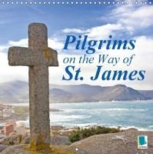 Pilgrims on the Way of St. James (Wall Calendar 2015 300 × 300 m