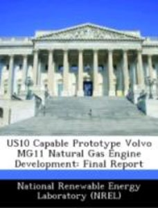 US10 Capable Prototype Volvo MG11 Natural Gas Engine Development
