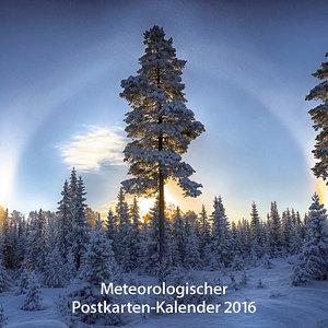 Meteorologischer Postkartenkalender 2016
