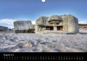 Bunker Houvig (Wandkalender 2016 DIN A3 quer)