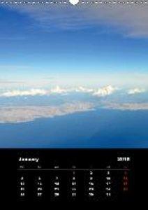 Istanbul - Aerial Views / UK-Version (Wall Calendar 2015 DIN A3