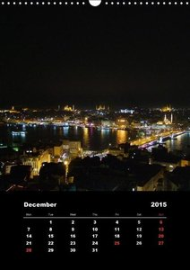 Istanbul - Aerial Views / UK-Version (Wall Calendar 2015 DIN A3