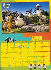 Shaun das Schaf - Kalender 2016