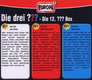 Die drei ??? Box 12. Folgen 34-36 (drei Fragezeichen)