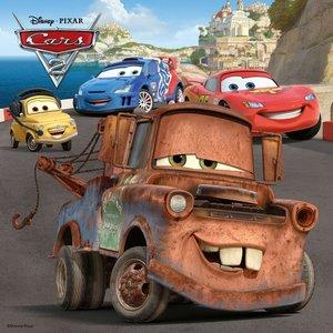 Abenteuer mit Cars. Puzzlekoffer