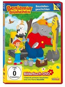 Benjamin Blümchen. Bilderbuch-DVD: Baustellengeschichten