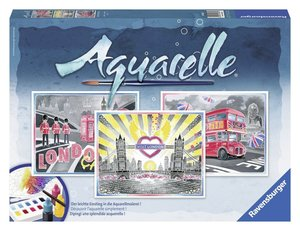 London Aquarelle-Malen Maxi