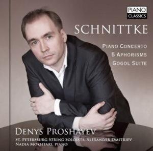 Piano Concerto / 5 Aphorisms / Gogol Suite