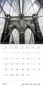 New York City Views (Wall Calendar 2015 300 × 300 mm Square)