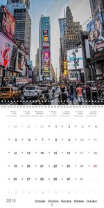 New York City Views (Wall Calendar 2015 300 × 300 mm Square)